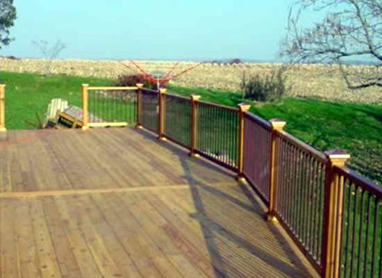 Wood Deck Construction WI